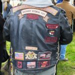 It is worth clicking on this jacket for a larger view to read the patches.