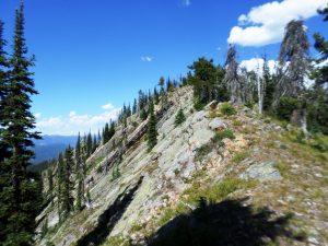 Sullivan Mt trail, 6400 ft, a 3400 ft climb with the Rav4